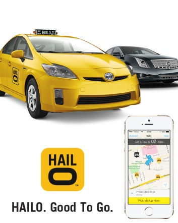 $2.50 for $25 Credit Towards Hailo Taxi Ride for New Clients
