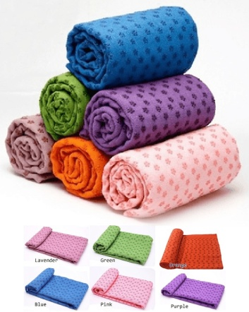 $26 for Thirsty Yoga Towel - Choose from 6 Colours!