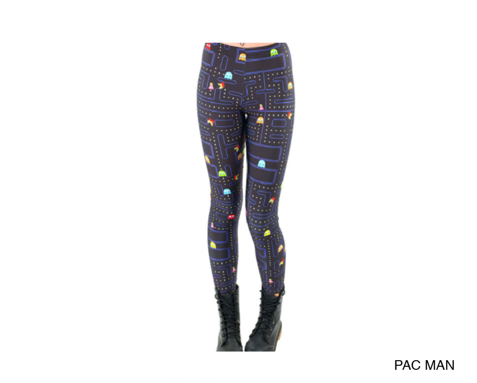 $14 for a Pair of 3D Galaxy/Pacman Leggings