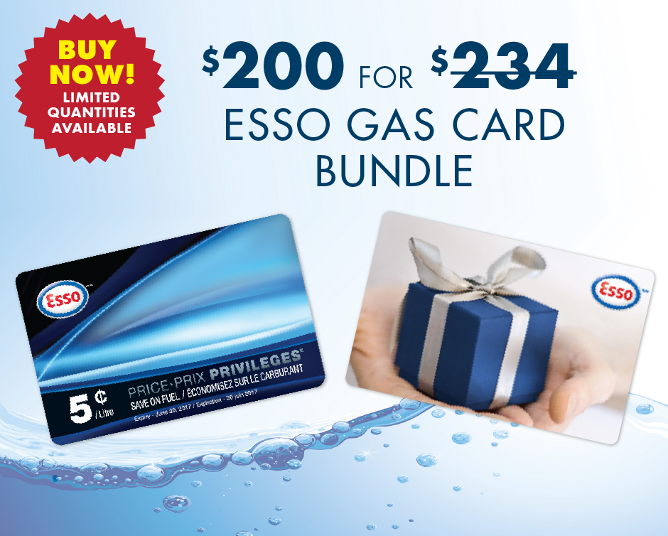 $200 for a $234 Esso Gift Card Bundle - Celebrate 150 Years of ...