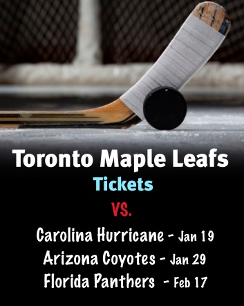 $99 and Up for Tickets to the Toronto Maple Leafs vs. Carolina Hurricanes on January 19th OR vs....