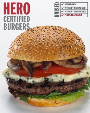 $10 for $20 Worth of Heritage Angus Beef Burgers, Salmon Burgers, Veggie Burgers, Drinks and...