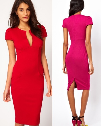 $26 for a Elegant & Sexy Plunge Neckline Dress - Choose from 5 Colours!
