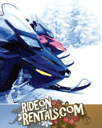 $59 for a 1-Hour Snowmobile Rental OR $79 to Explore Ontario with a Snowmobile Rental and...