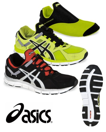 $115 for a Pair of ASICS Gel Synthesis Cross Trainer Shoes for Men - Choose from  2 Colours!