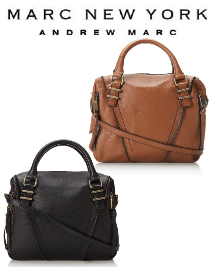 $65 for a Marc New York By Andrew Marc Luggage Cross Body Purse in Brown OR Marc New York by...