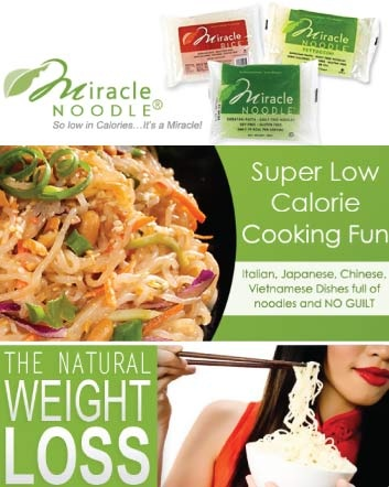 $24 for a Variety Pack of 12 Zero Calorie, Zero Carb Noodles