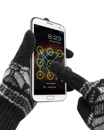 $8 for a Pair of Super Soft Wool Touch Screen Gloves in 4 Colours