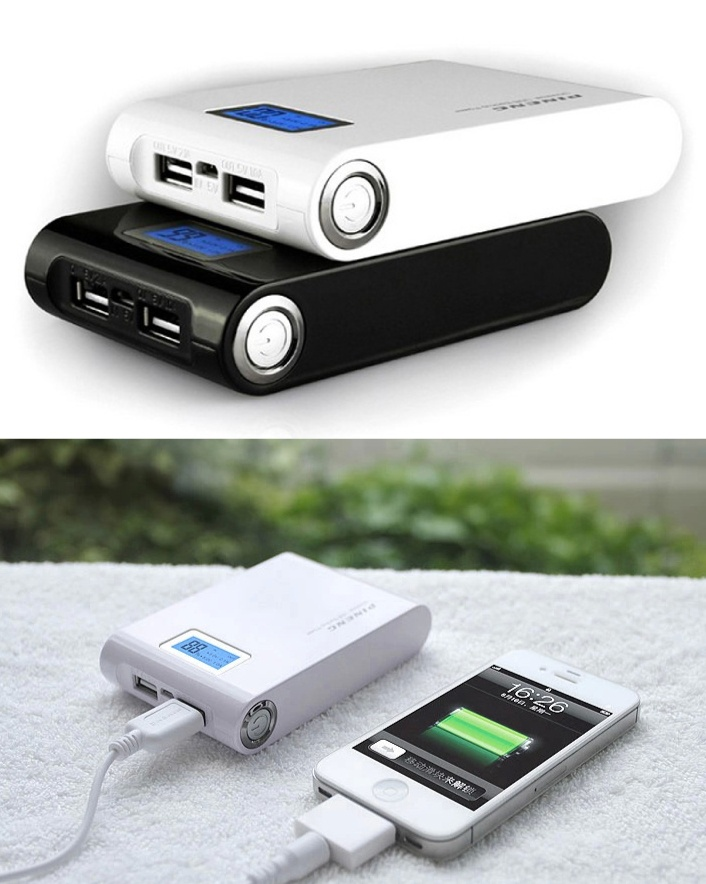 $29 for an LCD Charging Treasure, Choose from 2 Colours
