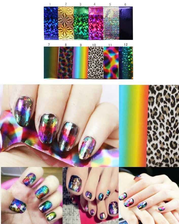 $16 for a 12 Piece 3D Starry Sky Nail Sticker