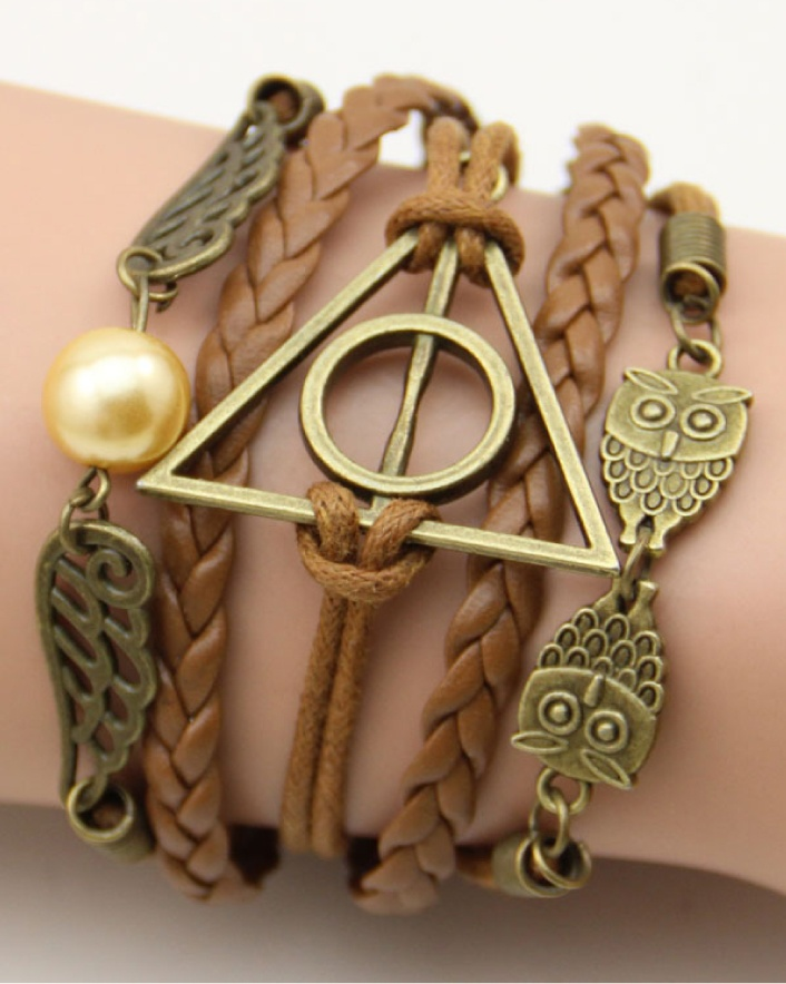 $9 for a Harry Potter Hand-Knitted Woven Bracelet