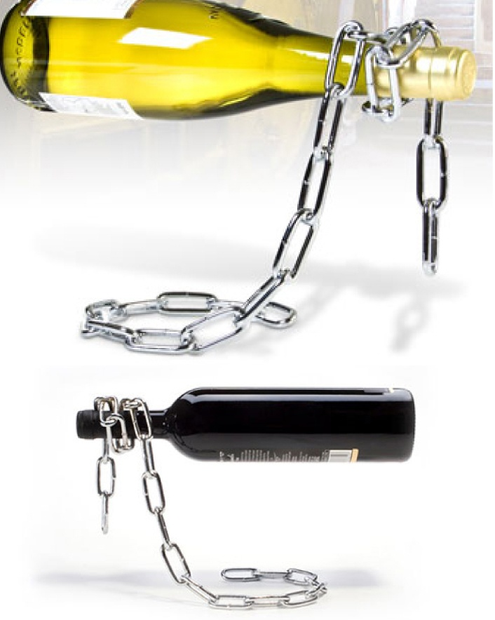 $19 for a Magic Chain Wine Stand