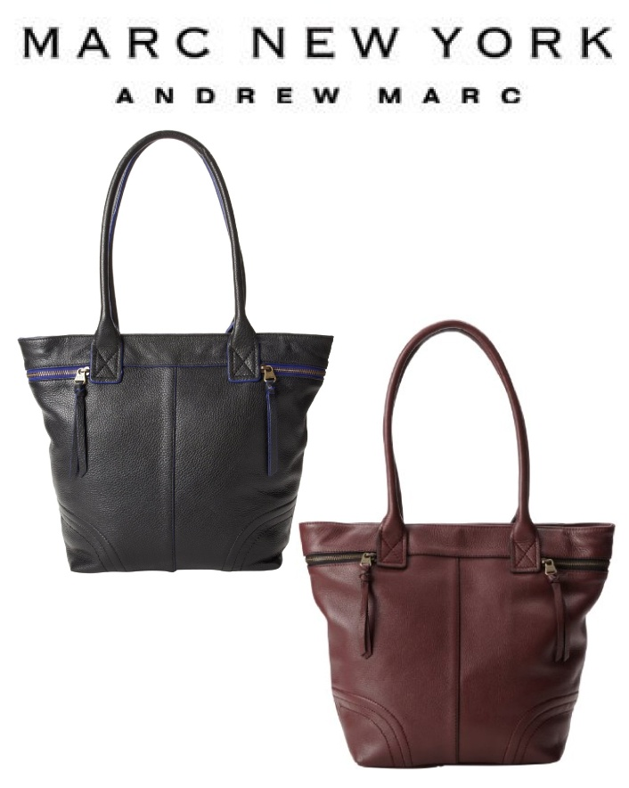 $139 for an Authentic Marc New York Andrew Marc Small Nora Tote Choose from Two Colours