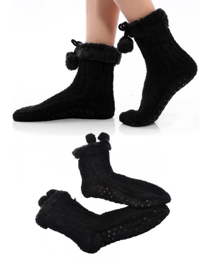 $12 for a Pair of Japanese Style Anti-Slip Floor Socks for Women
