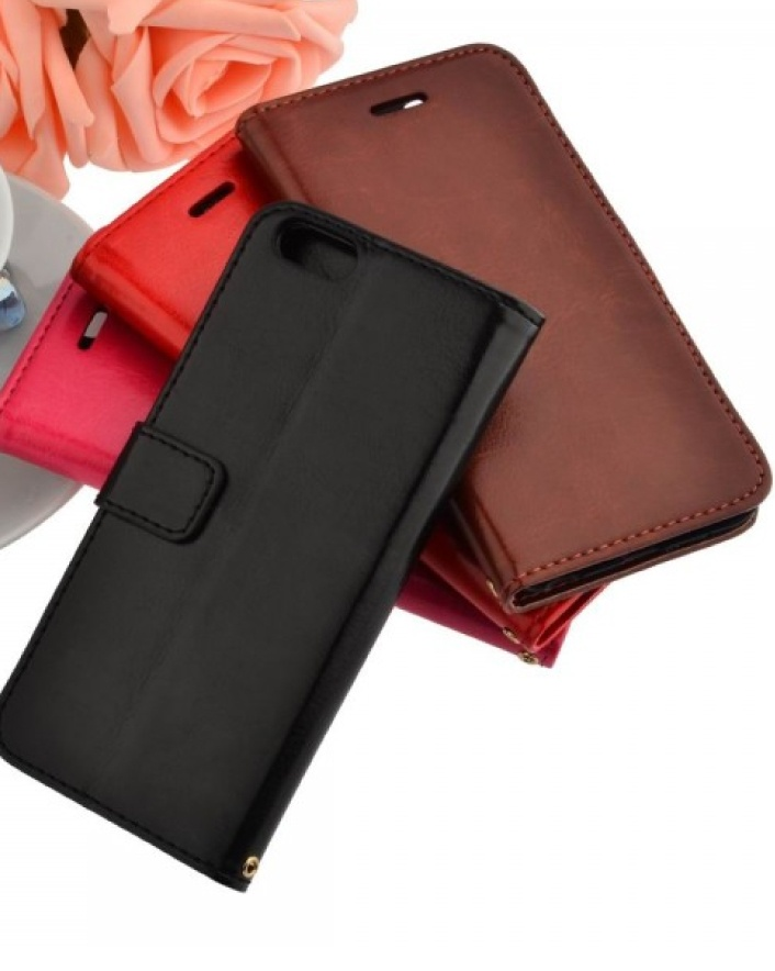 $13 for a PU Flip Case with Two Card Slots for iPhone 6, Choose from 4 Colours