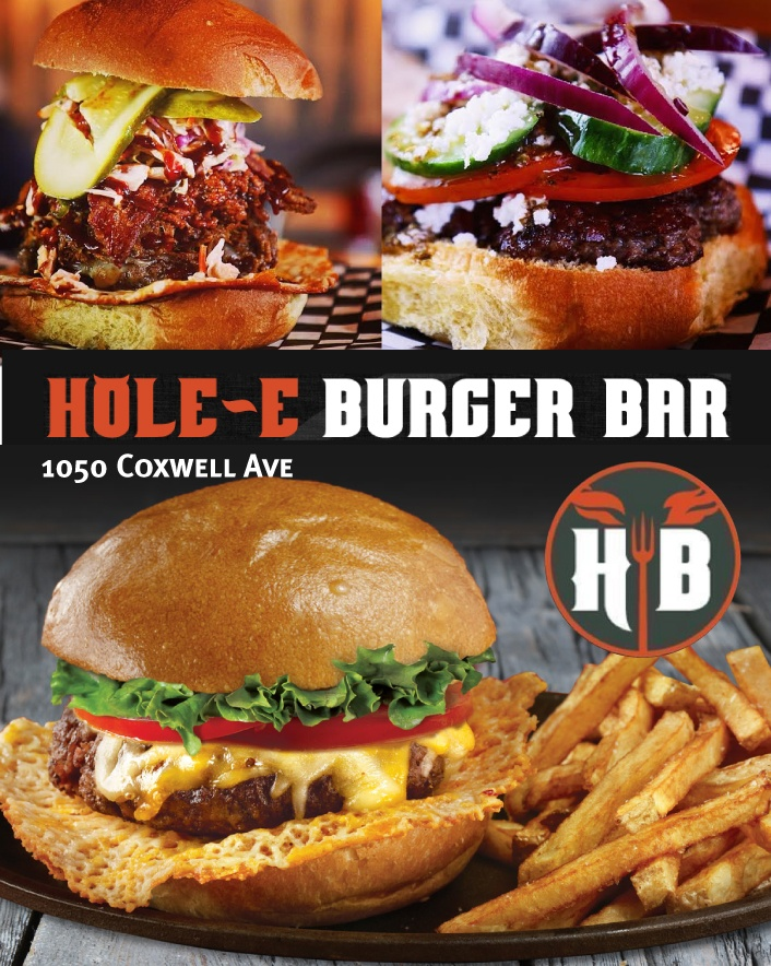 $10 for $20 Worth of Food and Fare at Hole-E Burger Bar