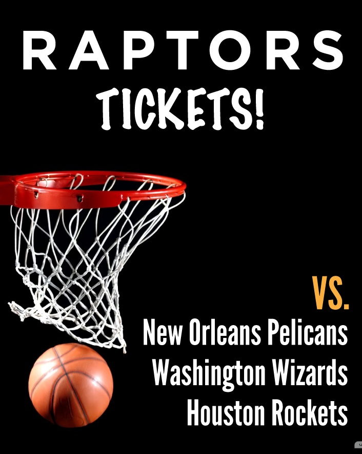 $59 and Up for a Ticket to the Toronto Raptors vs. New Orleans Pelicans OR vs. Washington Wizards...