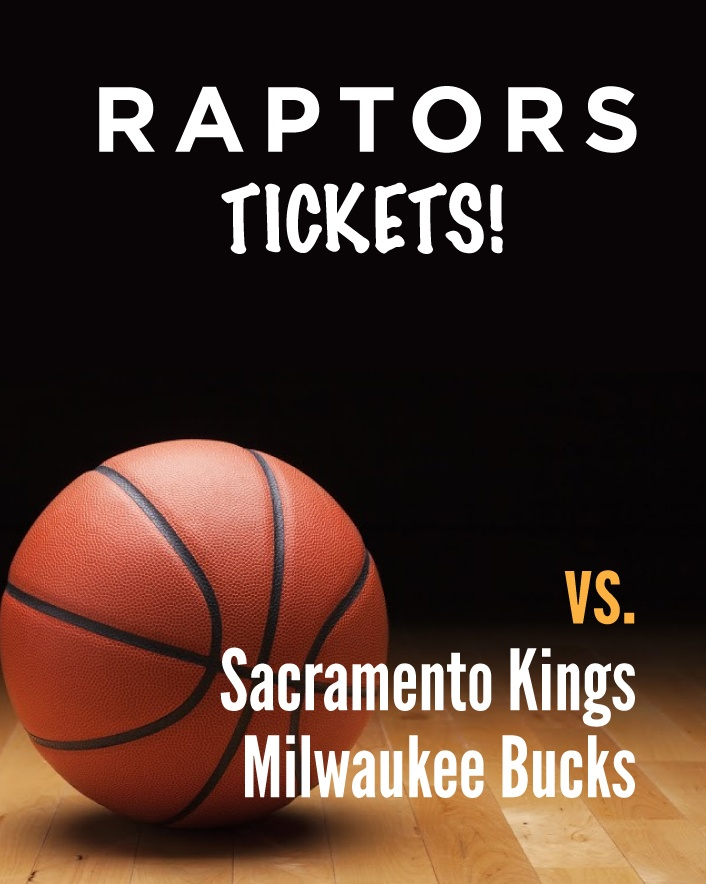 $35 and Up for a Ticket to the Toronto Raptors vs. Sacramento Kings OR vs. Milwaukee Bucks at the...