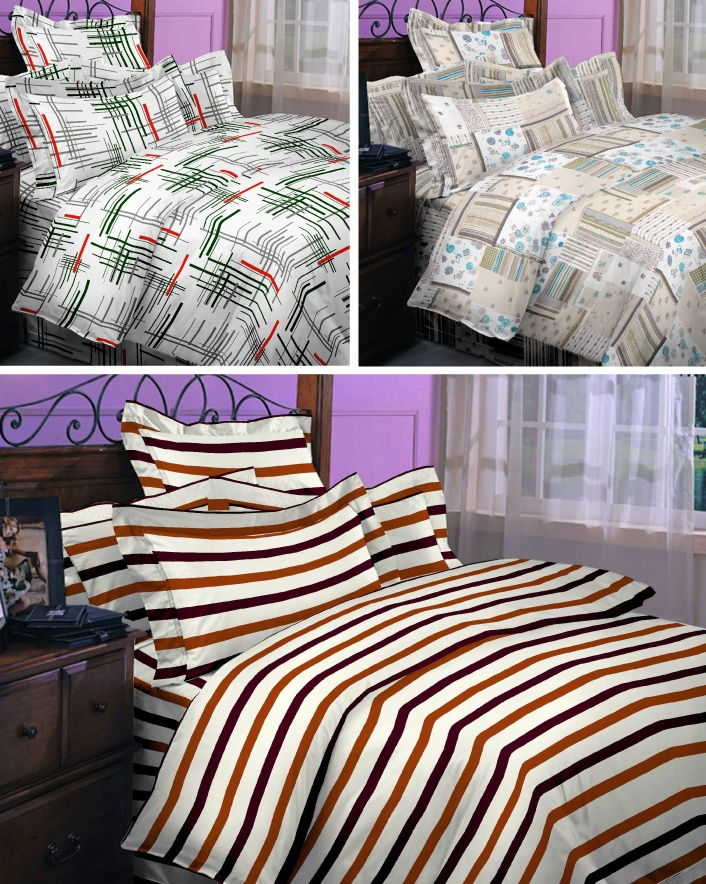 $19 & Up for 3-Piece Microfiber Printed Sheet Set, Choose from 6 Styles