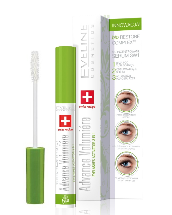 $20 for an Advance Volumiere Eyelashes Concentrated Serum 3-in-1 Mascara by Eveline Cosmetics