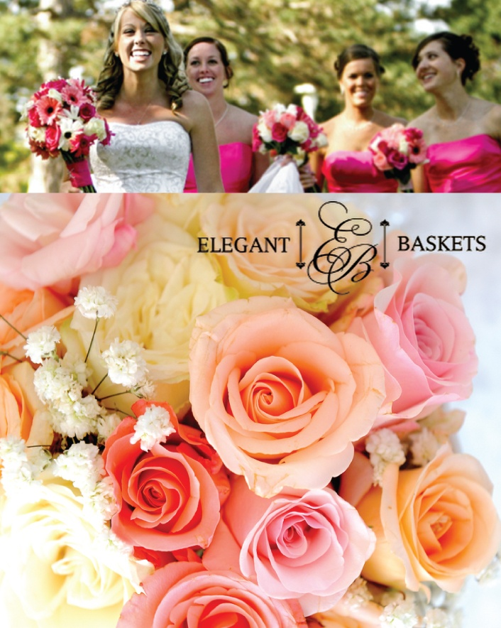 $59 for a Toss Bouquet, 3 Bridesmaids Bouquets, and 3 Boutonnieres