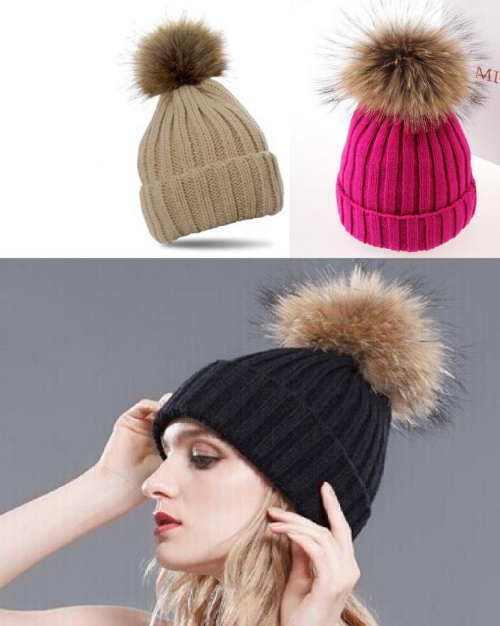 $7 for Hand Knitted Wool Beanies OR $11 for 2, Choose from 3 Colours