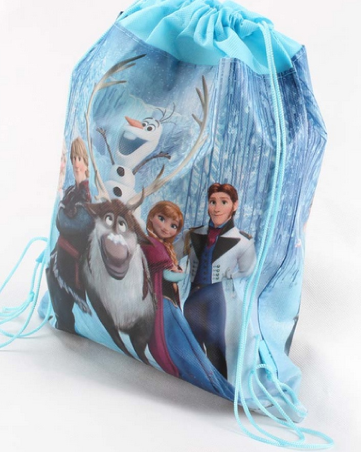 $7 for a Frozen The Movie Drawstring Backpack OR $11 for 2