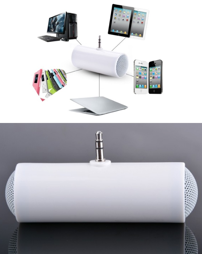 $7 for a Portable & Loud Speaker for Multimedia Devices OR $11 for 2