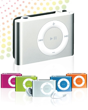 $7 for a Mini Clip Shuffle MP3 Player OR $11 for 2, Choose from 8 Colours