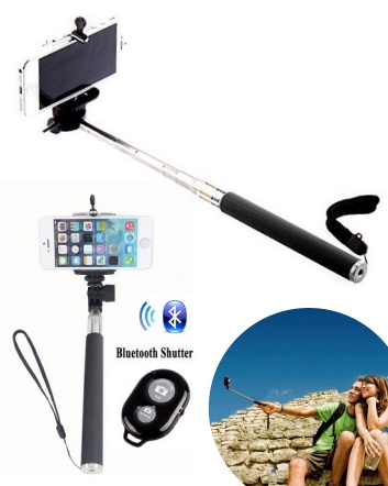 $19 for a Universal Extendable Self-Portrait Phone Mount OR $36 for 2