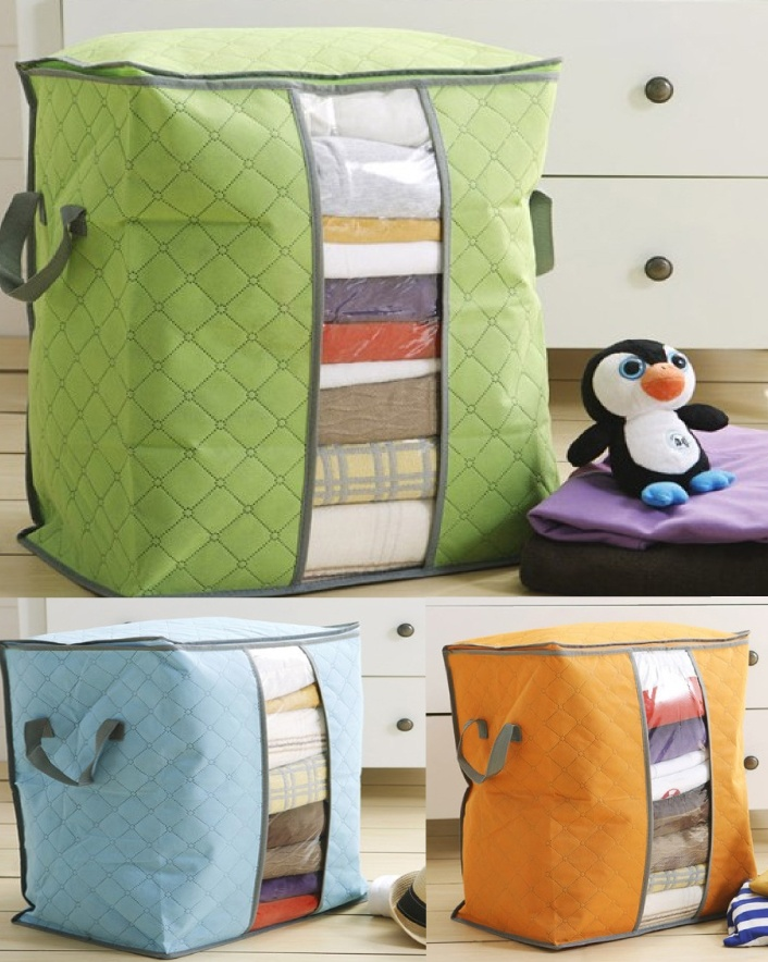 $9 for a Clothes & Quilt Organizer, Choose from 3 Colours