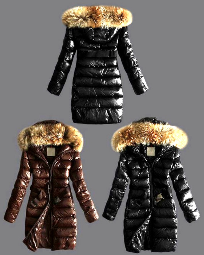 $89 for a Goose Down Jacket with Fur Hood,  Choose from 2 Colours