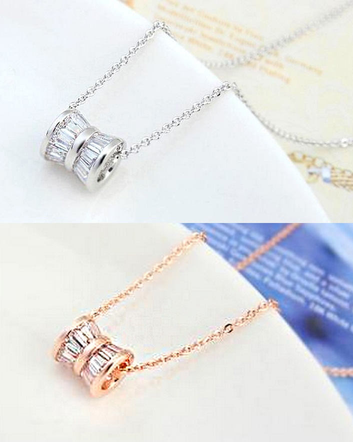$15 for an 18K Austrian Crystal Necklace, Choose from 2 Colours