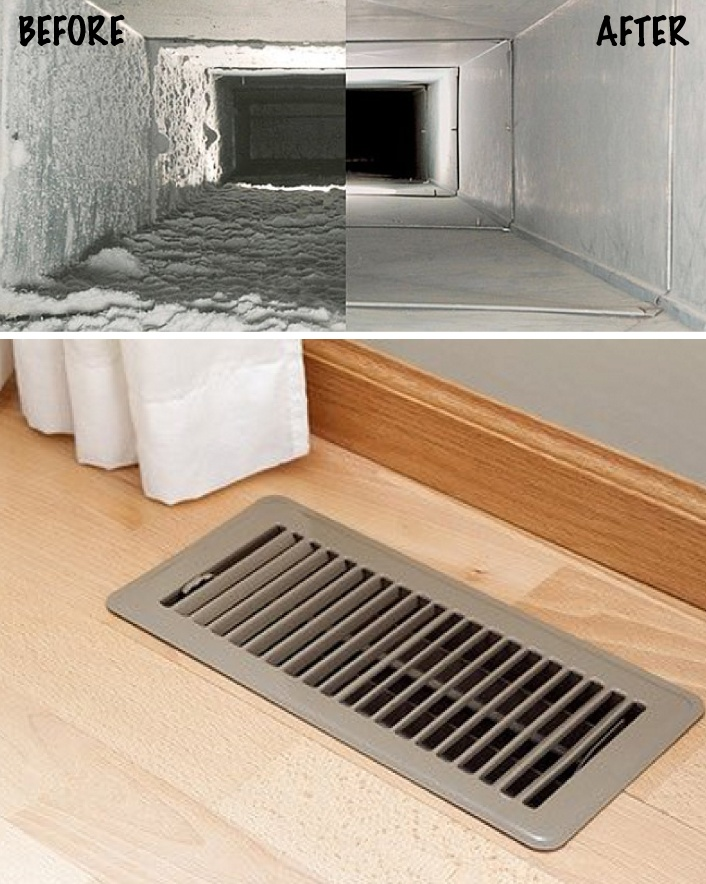 $59 for a Duct Cleaning Package for Up to 15 Vents, Includes Disinfectant Plus Furnace, AC Coil...