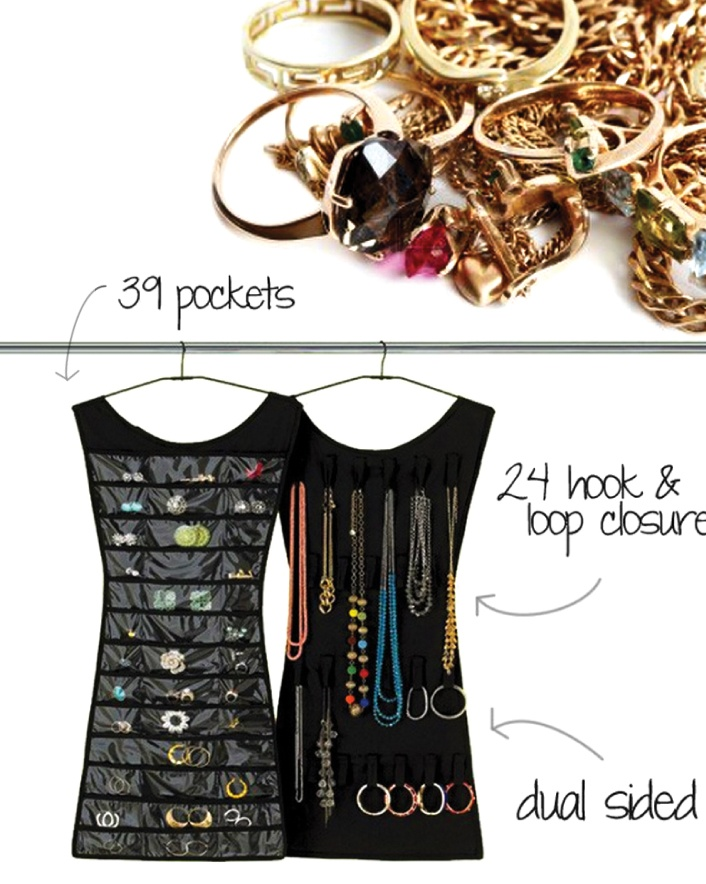 $10 for a Little Black Dress Jewelry Organizer