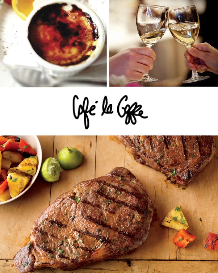 $49 for a Delicious 4-Course Prix Fixe Gourmet Dinner for 2 with 2 Glasses of House Wine OR $55...