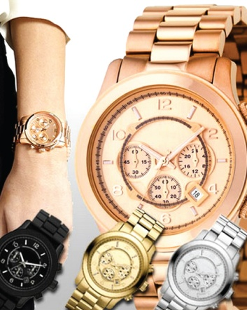 (was $24) NOW $12 for a Michael Kors Inspired Watch - Choose from 4 Styles!