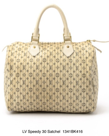 $549 for an Authentic Vintage Louis Vuitton Monogram Mini Lin Croisette Speedy 30 Satchel Handbag