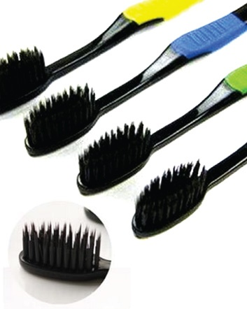 (was $6) NOW $3 for a Pack of 4 Charcoal Toothbrushes