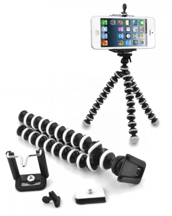 $9 for an Octopus Style Poseable Tripod for Cell Phones and Cameras