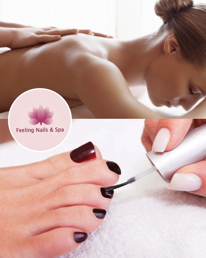 $35 for Manicure, Pedicure, and 30-Minute Massage