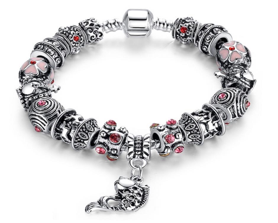 10 for a pandora inspired multi charm bracelet buytopia