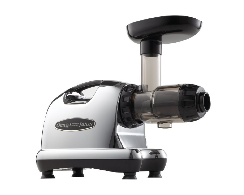 $299 for Omega Low Speed Chrome Horizontal Juicer Buytopia