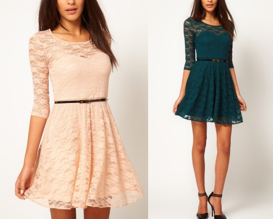 $10 for a 3-Quarter Sleeve Lace Dress