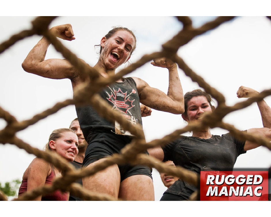 59 For Afternoon Registration To The Rugged Maniac 5k