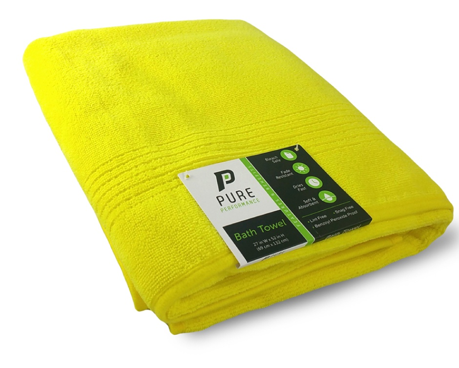 10 For A Set Of 2 Pure Performance Bath Towels Buytopia