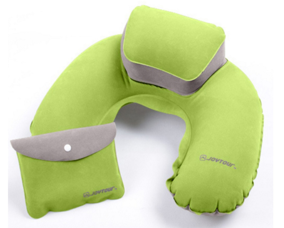 $0 for an Inflatable Neck Pillow with Travel Pouch, Choose ...