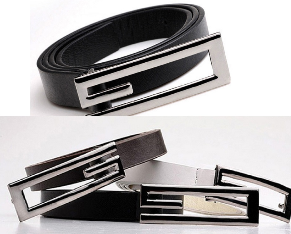 $10 for 2 Men's Vegan-Friendly Leather Belts, Choose from ...