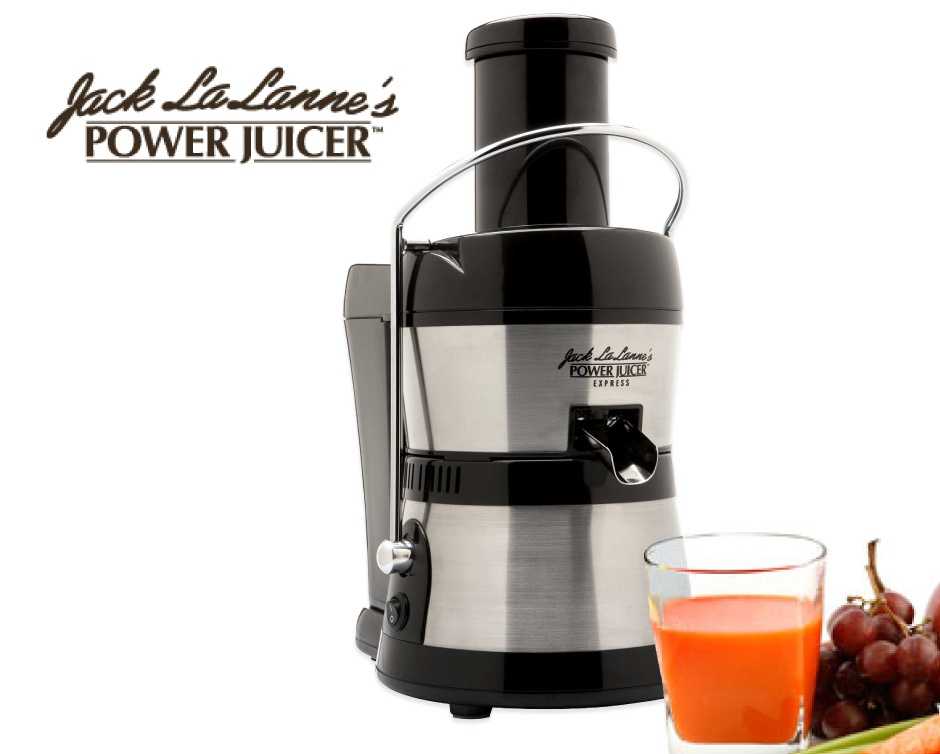 69 for jack lalanne 39 s power juicer in silver buytopia. Black Bedroom Furniture Sets. Home Design Ideas