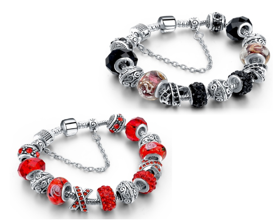 0 for a pandora inspired charm bracelet buytopia